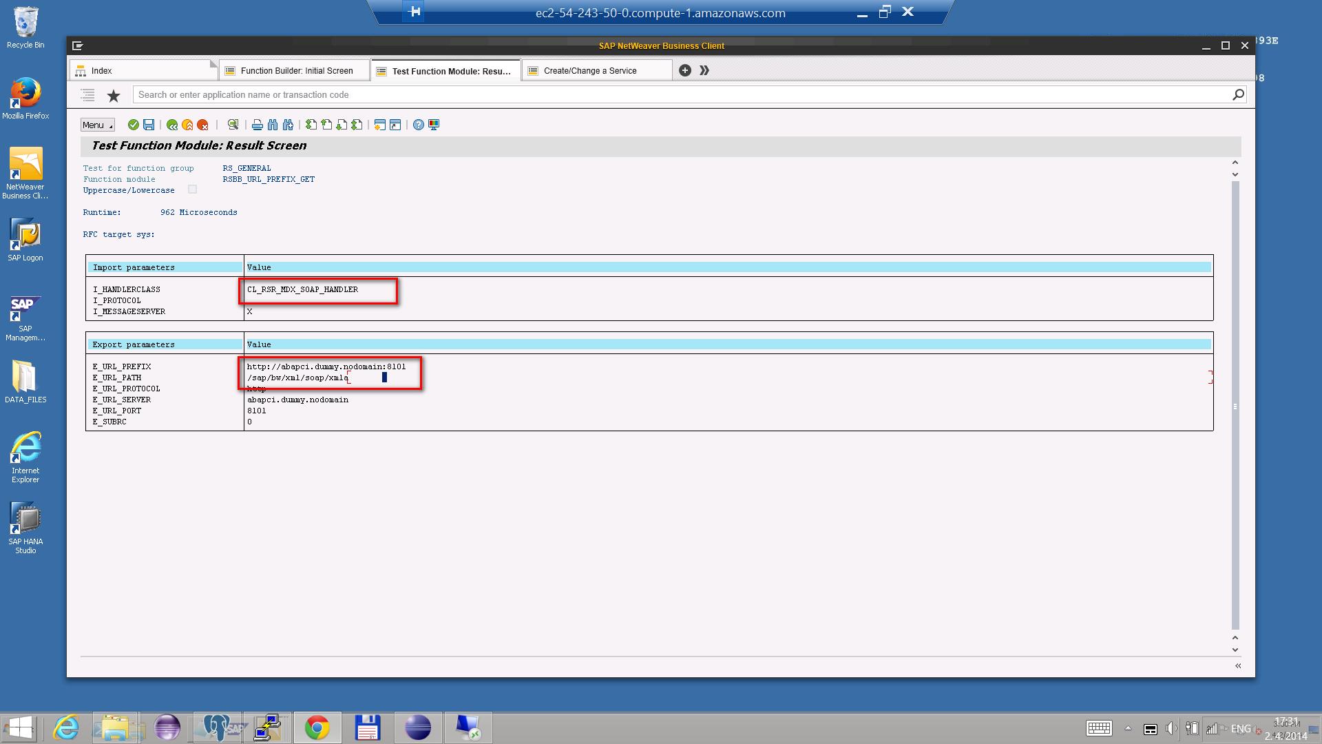 1) Connecting to SAP BW - BellaDati v2 7 - BellaDati Support