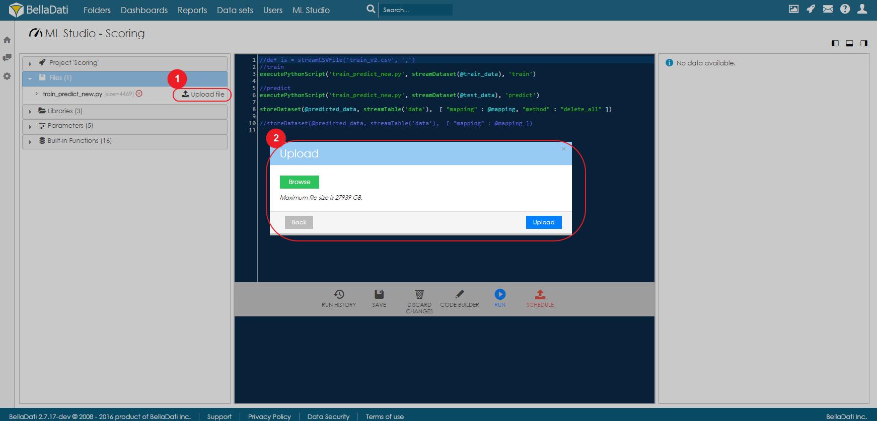 Using Python - BellaDati v2 7 - BellaDati Support